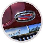 1951 Buick Eight Round Beach Towel