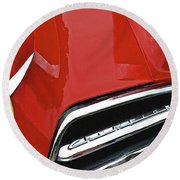1953 Studebaker Champion Round Beach Towel