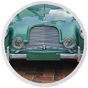 1955 Aston Martin Round Beach Towel