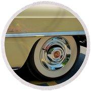 1955 Cadillac 2 Round Beach Towel
