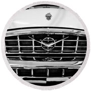 1956 Packard Caribbean Custom Cvt Round Beach Towel