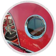 1957 Ford Thunderbird  Round Beach Towel
