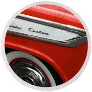 1957 Nash Ambassador Custom Round Beach Towel
