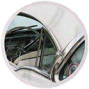 1958 Cadillac Round Beach Towel