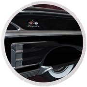 1958 Impala Round Beach Towel