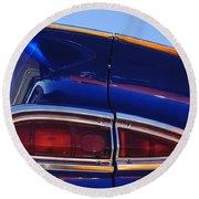 1959 Chevrolet El Camino Taillight Round Beach Towel