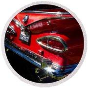 1959 Chevy El Camino  Round Beach Towel