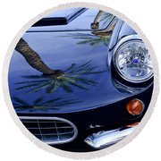 1963 Apollo Front End 2 Round Beach Towel by Jill Reger