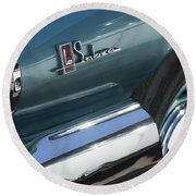 1965 Buick Lasabre Emblem Round Beach Towel