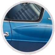 1966 Chevy Caprice Chevrolet Back Clip Round Beach Towel