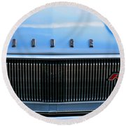 1966 Dodge Coronet Rt Round Beach Towel