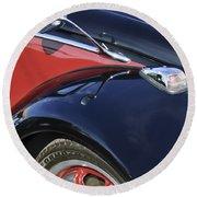 1966 Volkswagen Vw Bug Round Beach Towel