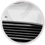 1967 Buick Station Wagon Round Beach Towel by Michelle Calkins