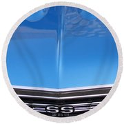 1967 Chevrolet Chevelle Super Sport  Round Beach Towel