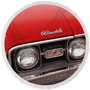 1968 Oldsmobile Cutlass Supreme Round Beach Towel