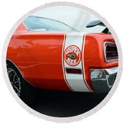 1970 Dodge Super Bee 2 Round Beach Towel