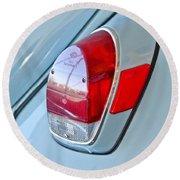 1971 Volkswagen Vw Beetle Taillight Round Beach Towel