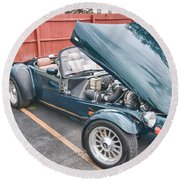 1994 Panoz Roadster Round Beach Towel