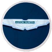 1997 Aston Martin Emblem Round Beach Towel