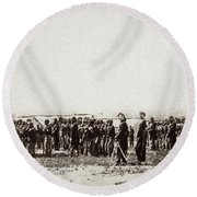 1st U.s. Colored Infantry Round Beach Towel