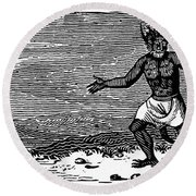 Bewick: Devil Round Beach Towel
