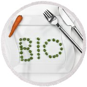 Bio Round Beach Towel