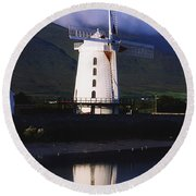 Blennerville Windmill, Tralee, Co Round Beach Towel