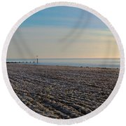 Bournemouth Beach Round Beach Towel