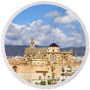 Cathedral Mosque Of Cordoba Round Beach Towel