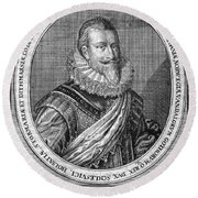 Christian Iv (1577-1648) Round Beach Towel