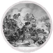 Civil War: Antietam, 1862 Round Beach Towel