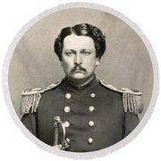 Civil War: Union Soldier Round Beach Towel