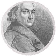 Claude-louis Berthollet, French Chemist Round Beach Towel by Science Source