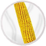 Corn Cob Round Beach Towel