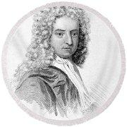Daniel Defoe (c1659-1731) Round Beach Towel