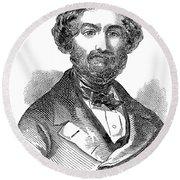 Giuseppe Verdi (1813-1901) Round Beach Towel