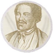 Henry Box Brown, African-american Round Beach Towel