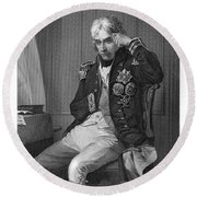 Horatio Nelson (1758-1805) Round Beach Towel