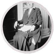 Ida M. Tarbell (1857-1944) Round Beach Towel