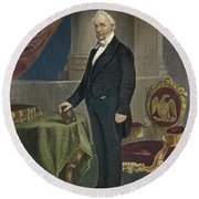 James Buchanan (1791-1868) Round Beach Towel
