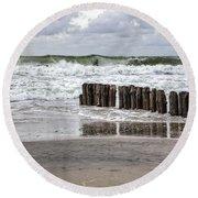 Kampen - Sylt Round Beach Towel