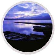 Lough Leane, Lakes Of Killarney Round Beach Towel