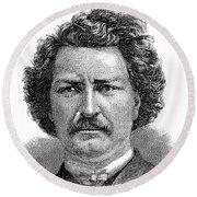 Louis Riel (1844-1885) Round Beach Towel