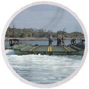 Marines And Sailors Tow An Improved Round Beach Towel