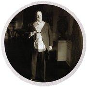 President William Howard Taft Round Beach Towel by International  Images