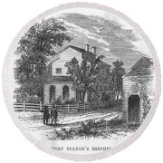 Robert Fulton (1765-1815) Round Beach Towel