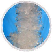 Rock Candy Round Beach Towel