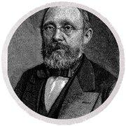 Rudolf Virchow (1821-1902) Round Beach Towel