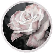 Secret Garden Rose Round Beach Towel