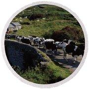 Slea Head, Dingle Peninsula, Co Kerry Round Beach Towel